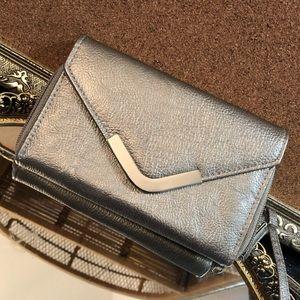 Handbags - Small Silver Crossbody